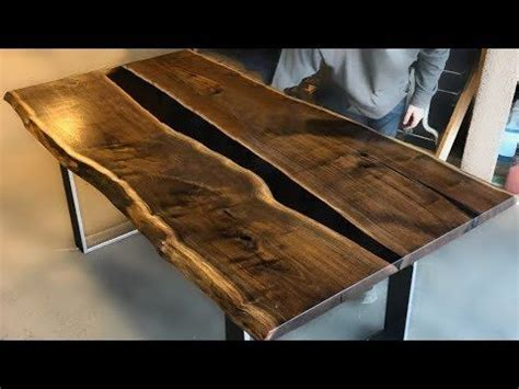 epoxy tutorial video wood resin table resin table