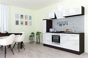 Küchenzeile 240 Cm Mit E Geräten : respekta k chenzeile rp240 mit e ger ten breite 240 cm online kaufen otto ~ Watch28wear.com Haus und Dekorationen