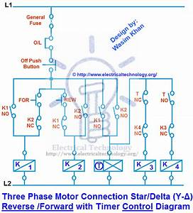 Star Delta Motor Diagram