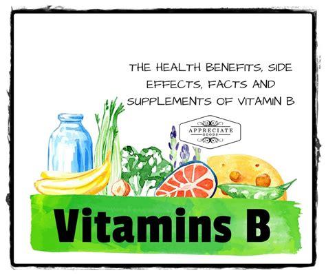 vitamin  complex health benefits  natural food sources