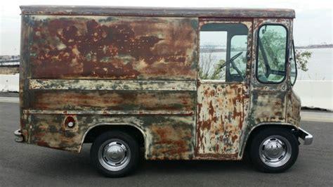 jeep van truck 1962 jeep fj3a fleetvan willys patina rat rod mail