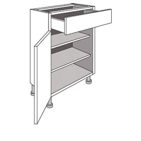 meuble bas cuisine largeur 15 cm meuble de cuisine bas p 33 cm 1 porte 1 tiroir twist cuisine
