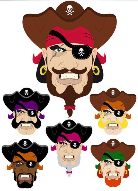 pirate face generator  behance