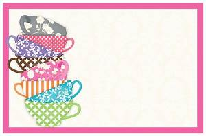 tea party invitation template theruntimecom With morning tea invitation template free