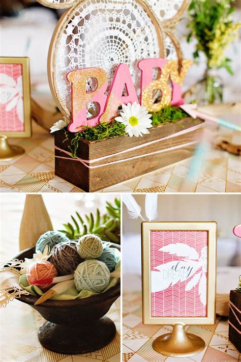 baby shower decorations best 25 bohemian baby showers ideas on