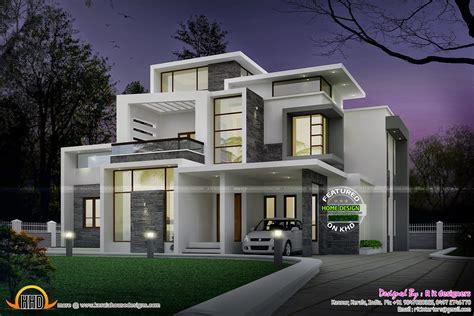 contemporary homes designs grand contemporary home design kerala home design and