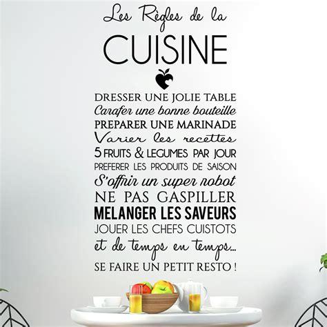stickers recette de cuisine sticker citation les règles de la cuisine stickers
