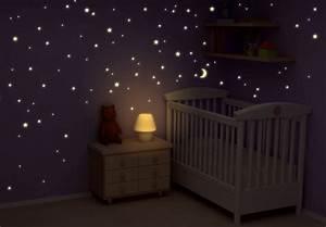 Leuchtsterne Für Kinderzimmer : leuchtsterne sternenhimmel leuchtende sterne f r traumhafte n chte wall ~ Watch28wear.com Haus und Dekorationen