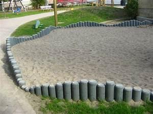 Palisaden Holz Rund : 20cm palisade aus recycling kunststoff ~ Frokenaadalensverden.com Haus und Dekorationen