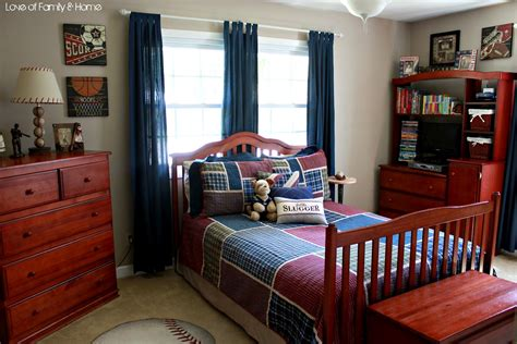 Sports Bedroom by S Room Vintage Baseball Boys Bedroom