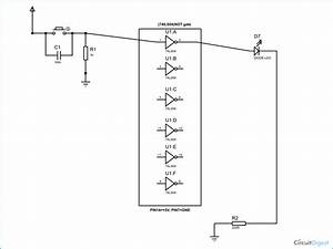 Not Gate Circuit Diagram And Working Explanation