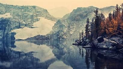 Mountain Fall Lake Nature Desktop Landscape Wallpapers