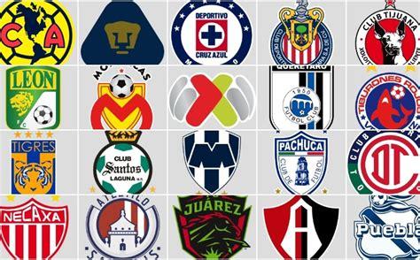 Primeros escudos de la historia en equipos de la Liga MX ...