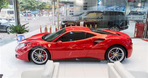 Ảnh minh họa ngày 7/8/2020, cục hải quan hải phòng thông báo tổ chức bán đấu giá lô tang vật bị tịch thu sung quỹ nhà nước do vi phạm hành chính về xuất nhập khẩu. Ảnh siêu xe Ferrari 488 GTB phủ gốm của Tuấn Hưng