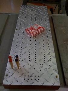 best 25 cribbage board ideas on pinterest cribbage With cribbage board templates metal