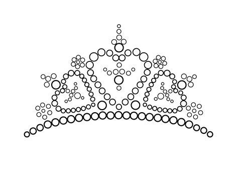 crown color crown princes coloring page coloring home