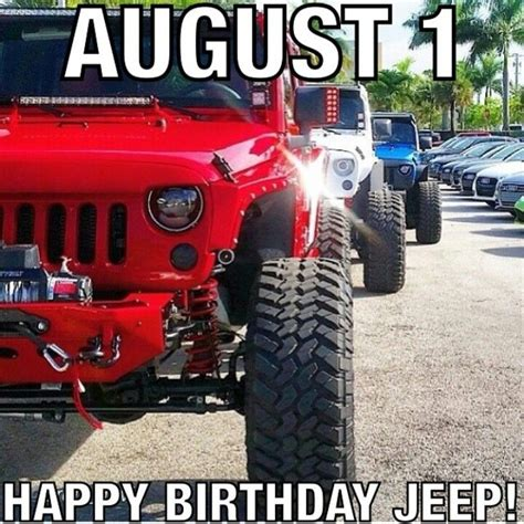happy birthday jeep images happy birthday jeep it 39 s a jeep thing pinterest