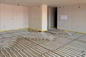 Bodenbeläge Für Fußbodenheizung by Fu 223 Bodenheizung Bodenbelagnet