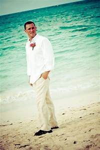 Picture Of Cool Tropical Grooms Look