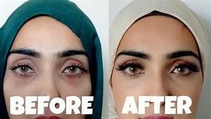 Olive oil under eyes