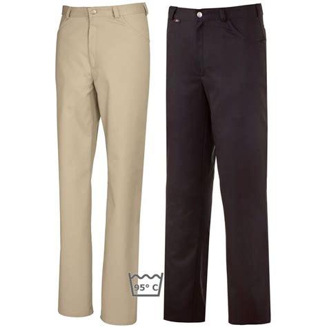 pantalon cuisine homme pantalon homme couleur