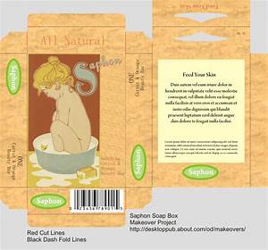 makeover projects soap boxes box packaging and layouts With soap box design template