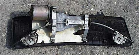 wiper motor linkage modification