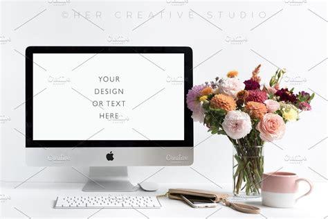 styled autumn floral desktop   styled desktop