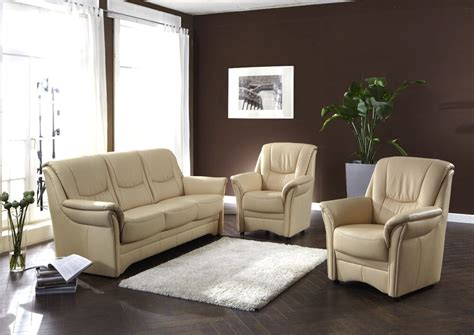 polster für sofa sofa polster garnitur 3 1 1 garnitur 3 sitzer 2 sessel echt leder neu ebay