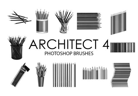 architect photoshop brushes   photoshop brushes
