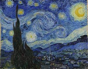 Starry Night, an Iconic Piece of Post-Impressionism by van ...