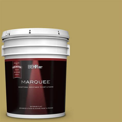 behr marquee 5 gal ppu6 19 chameleon flat exterior paint