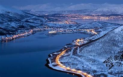 Norway Tromso Winter Night Tromsoe Else Anything