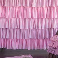 Pink And Purple Ruffle Curtains by Ruffled Shower Curtain I Layla Grayce