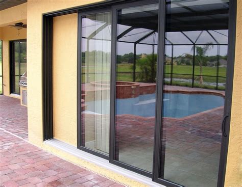 impact sliding doors impact resistant doors rollshield hurricane and