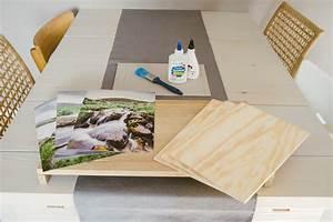 Foto Auf Holz Bügeln : diy fotos auf holz niklas coen ~ Markanthonyermac.com Haus und Dekorationen