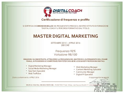 master digital marketing master digital marketing profitto