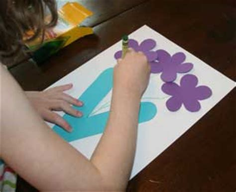 letter  vase craft  kids network