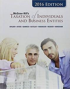 Solutions Manual Taxation Of Individuals And Business