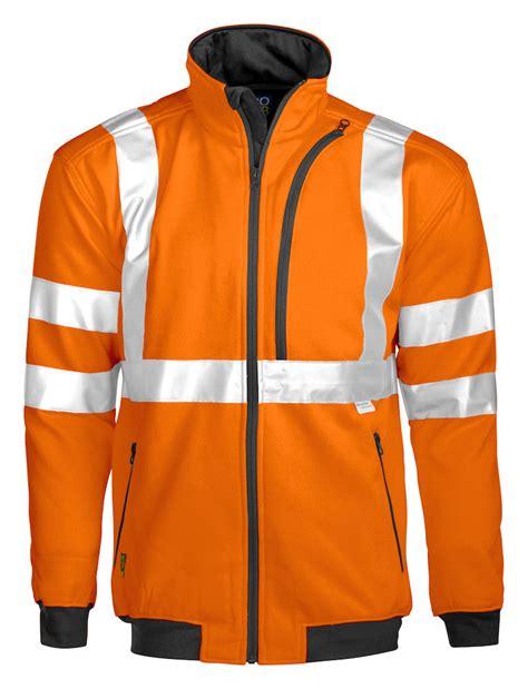 PJ6103 HiVis full zip jacket - Barden & Euroa Clothing
