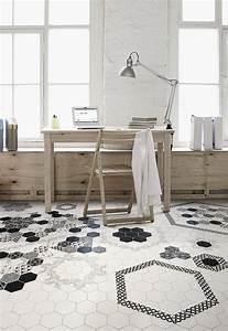Carrelage Hexagonal Blanc : carrelage les derni res tendances marie claire ~ Premium-room.com Idées de Décoration