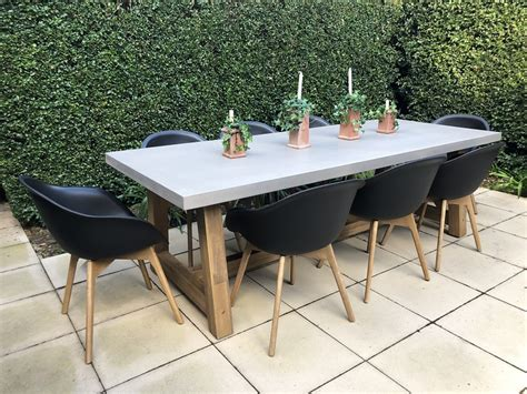 veltis outdoor dining setting  seater industrial