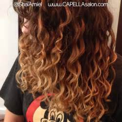 Balayage Ombre On Curly Hair