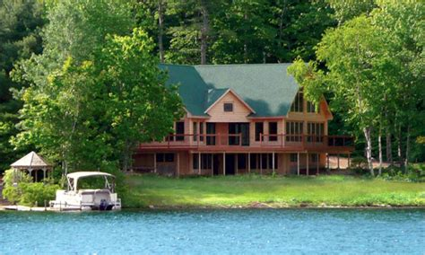 maine lakes real estate maine lakefront homes  sale lake front home plans treesranchcom