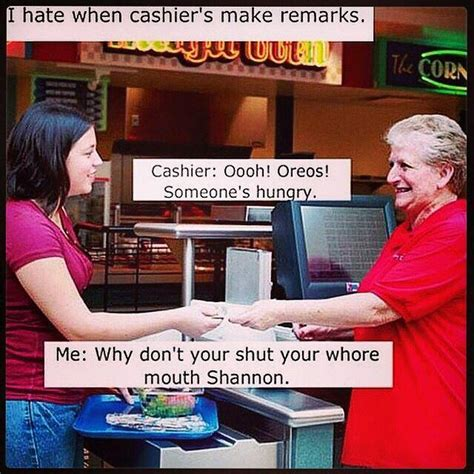 Cashier Memes - cashier remarks funny pictures quotes memes jokes