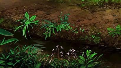 Anime Wind Aesthetic Rises Scenery Ghibli Lofi