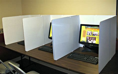 cardboard privacy screens for desks student desk dividers hostgarcia