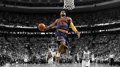 Lebron Background James Dunk Cleveland Player Cavaliers