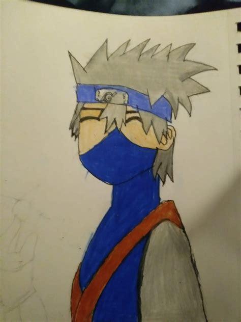 Kakashi Art Naruto Amino