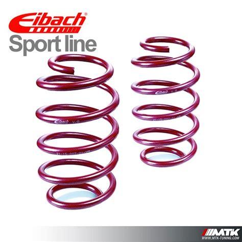 siege baquet 206 ressorts courts eibach sport line pour peugeot 206 s16